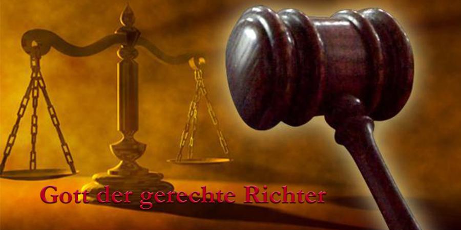 Gott der gerechte Richter