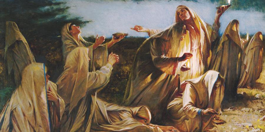 Die Jungfrauen von Matthäus 25